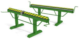 Оборудование для производства систем водостока - Листогиб ручной
